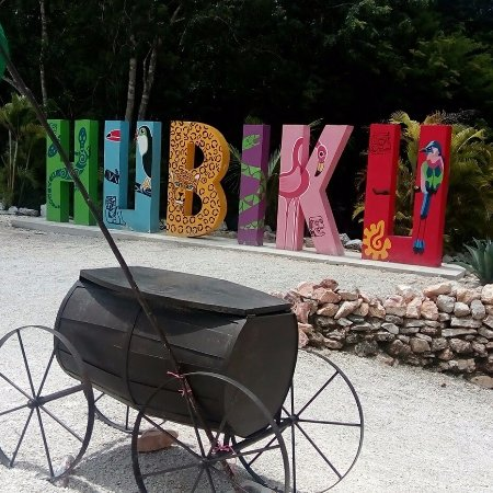 Temozon, Mexiko: El spot de bienvenida.