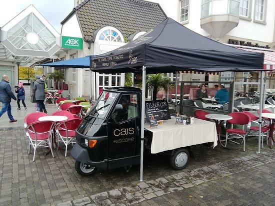 Arnsberg, Tyskland: Cais Eiscafe