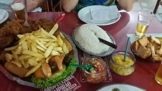 Restaurante Big Brother: Filé à cubana sensacional!!