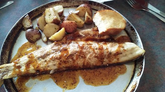 Abbeville, LA: Baked redfish-a wonderful treat