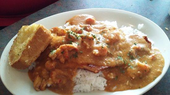 Abbeville, Luizjana: Catfish etouffee