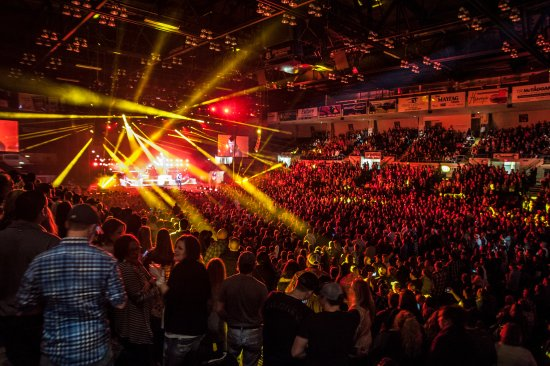Saginaw, MI: Dow Event Center Arena