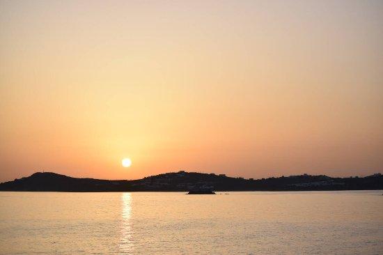 Paraga, Grækenland: Sunset