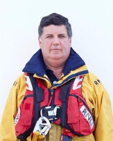 Stuart Adams Coxswain - RNLI Dungeness