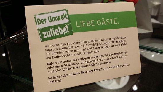 Dorint Herrenkrug Parkhotel Magdeburg: Keine Pflegeprodukte
