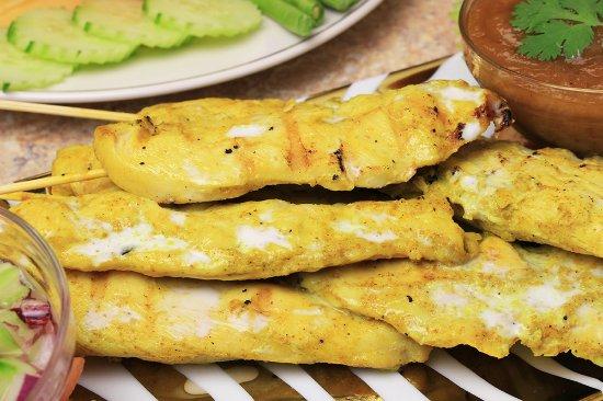 Westford, MA: Chicken Satay is a Thai classic!