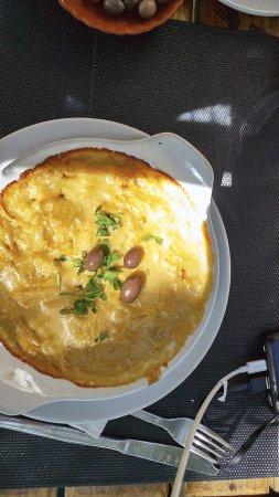 Restaurante Os Unidos: Bacalao con nata