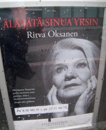 Alexander Theater (Aleksanterin Teatteri): Famous Finnish actress
