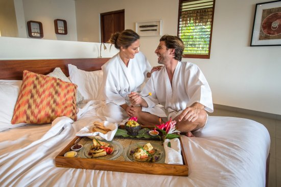 The Havannah, Vanuatu: Room service, a wonderful way to start your day!