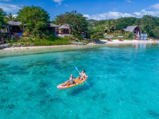 The Havannah, Vanuatu: Kayak at your lesuire.