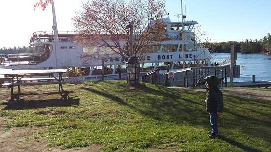 Gananoque, Canada: The cruise boat