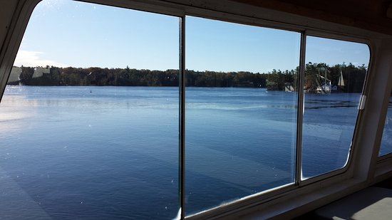 Gananoque, Canada: View from middle deck