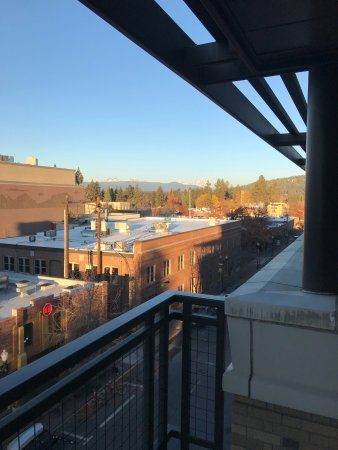 The Oxford Hotel: Balcony suite