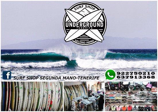 Surf Shop Underground Segunda Mano