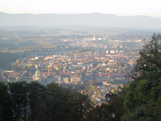 Gurten - Park im Grünen: View of Bern from the Gurten