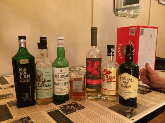 Tarraleah, Australia: Whiskey Tasting