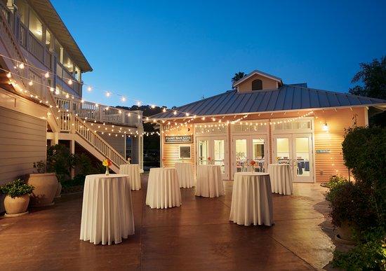 Avila Beach, Kalifornien: Port San Luis Patio event set up