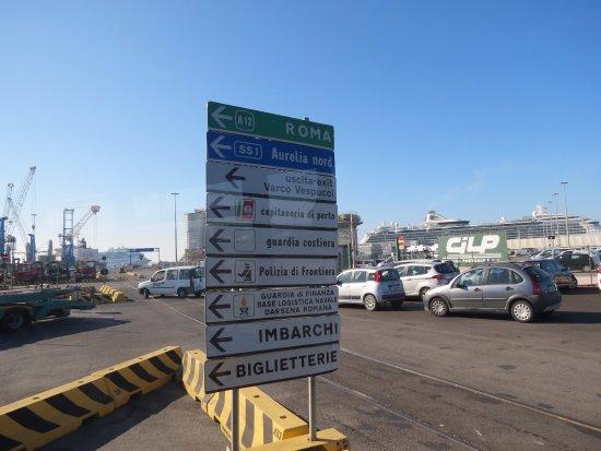Rome cruise terminal picture of civitavecchia port - Port of civitavecchia cruise terminal ...