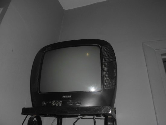 Hotel de la Paix: Fernseher