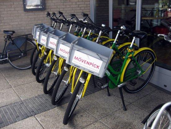 Voorburg, The Netherlands: Fahrräder für Gäste