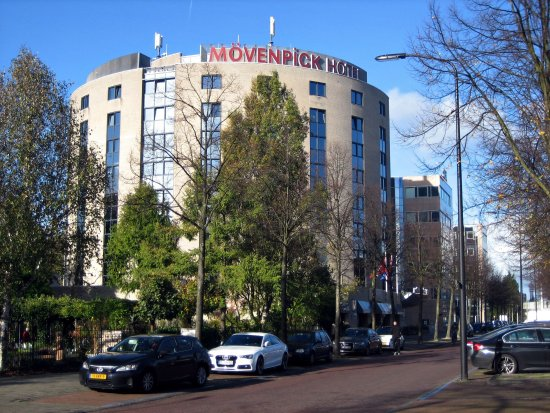 Voorburg, The Netherlands: Außenansicht Mövenpick-Hotel