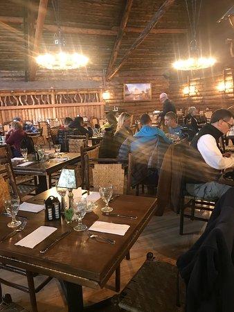 Merveilleux Old Faithful Inn Dining Room