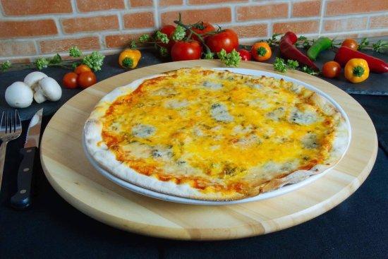GALERA Restaurante Pizzaria : Pizza Chamusca