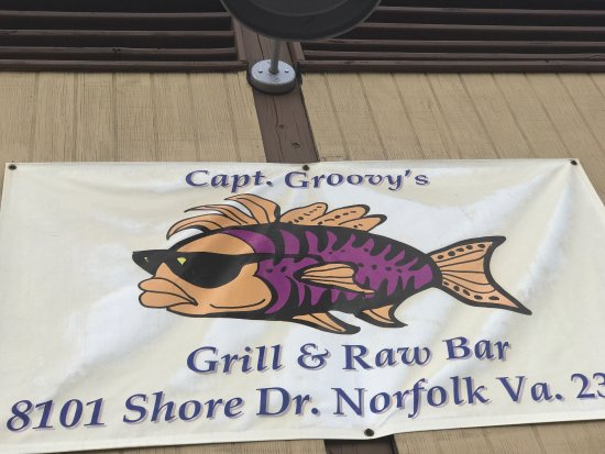 Capt. Groovy's Grill and Raw Bar: Groovy!!!