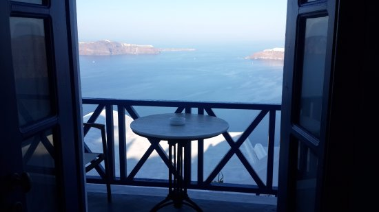 Heliotopos Hotel: You can ask for your breakfast to be brought to your room and eat with this view.
