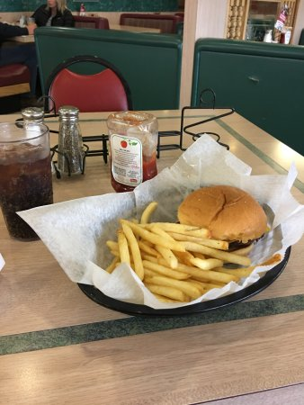 Danville, IL: burger and fries
