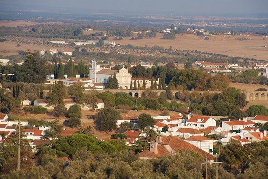 Viewpoint of Alto de São Bento (Évora)
