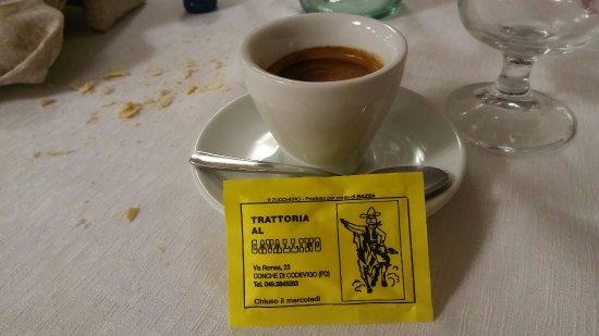 Trattoria al Cavallino Conche srl : Caffè lungo