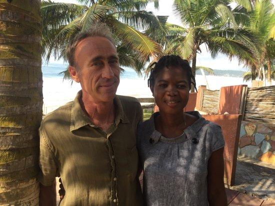 Busua, Ghana: Phil & Fanta