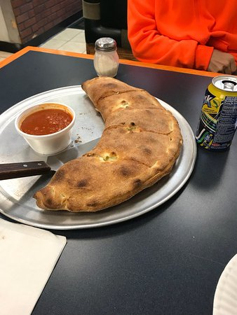 Plainville, CT: Large calzone for $12.95!!!