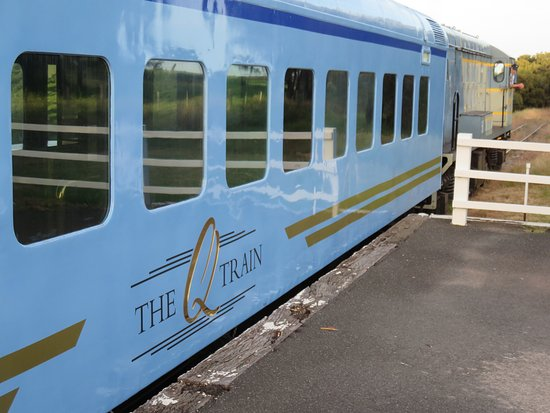 The Q Train Prepares To Leave Suma Park Station Picture Of Drysdale City Of Greater Geelong Tripadvisor