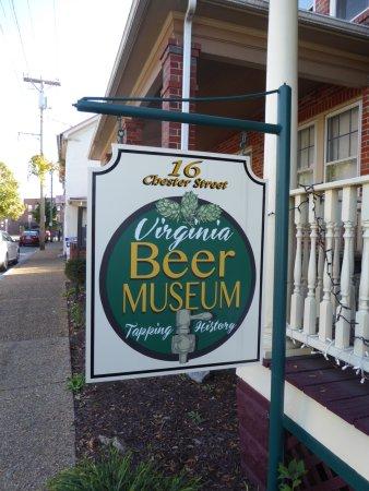 Virginia Beer Museum: Sign