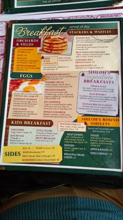 Woodsville, NH: Menu
