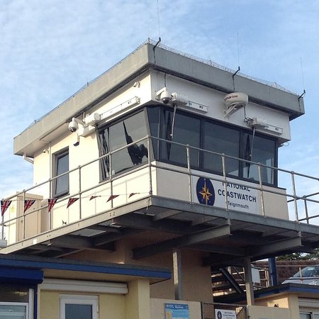 Тинмут, UK: National Coastwatch Institution Lookout Teignmouth