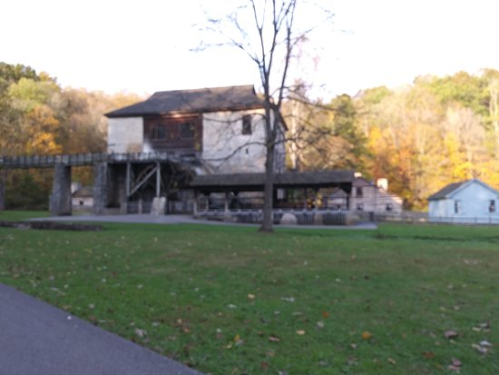 Spring Mill Inn: Spring Mill historical working grist mill