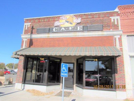 Belleville, KS: Outside of THE DINNER BELL CAFE