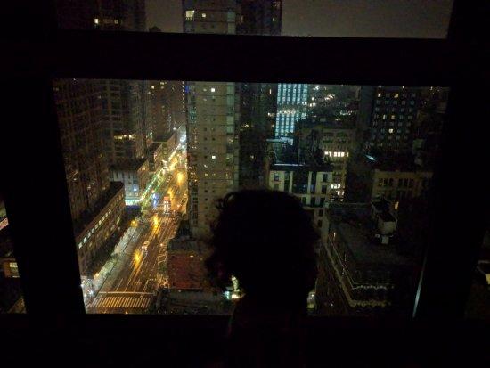 Beautiful Nighttime Views Picture Of Hyatt House New York Chelsea New York City Tripadvisor