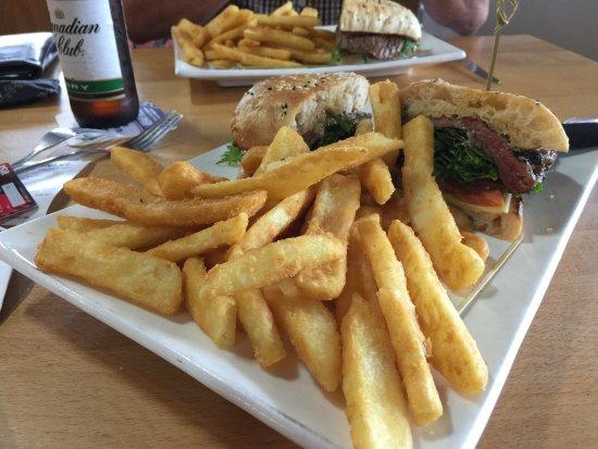 Moranbah, Australien: Steak Sandwich