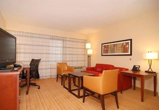 Irving, Teksas: King Suite Living Area