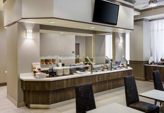 Residence Inn Houston Downtown/Convention Center: Breakfast Buffet