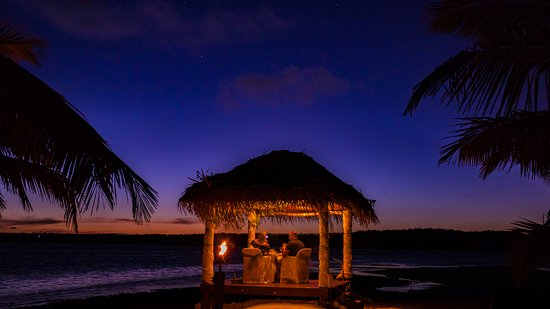 Aitutaki Lagoon Resort & Spa: Romantic Couple's Dining