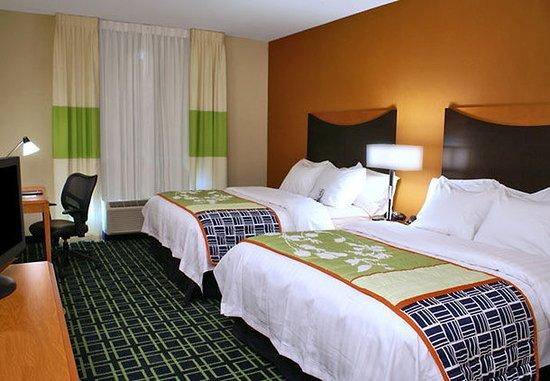 Kingsburg, Καλιφόρνια: Queen/Queen Guest Room