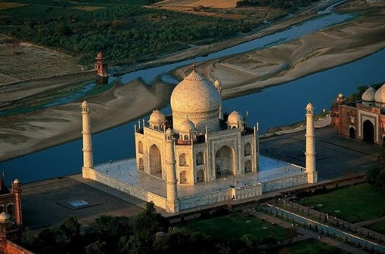 12-Hour Day-Trip to Taj Mahal Agra from...