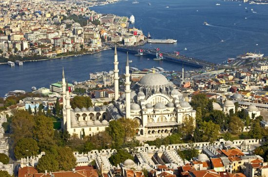 Istanbul: Suleymaniye Mosque and the...