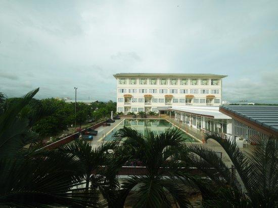 Maha Sarakham City, Tailandia: View from my room