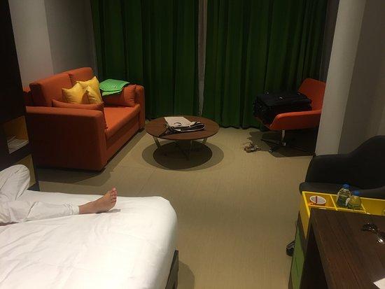 "a 3 star hotel such as an ""Ibis"" in Europe"